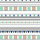 Aztec pattern by kicsijahmeky