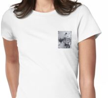 Brain Freeze Womens Fitted T-Shirt