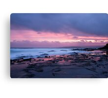 Snapper Rock Sunset Canvas Print