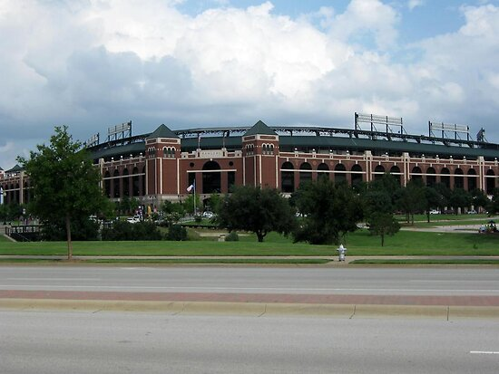 The Ballpark in Arlington by Vivian Sturdivant