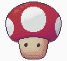 Red Mushroom by Jyles Lulham