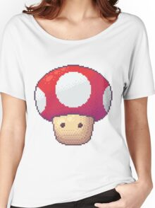Red Mushroom Women's Relaxed Fit T-Shirt