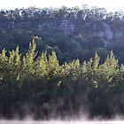 Sunrise on the escarpment by Paul Halley