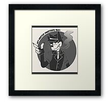 Hey Mr. Hi De Hi De Ho Framed Print