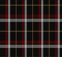 01684 Black (asymmetric) Tartan Fabric Print Iphone Case by Detnecs2013