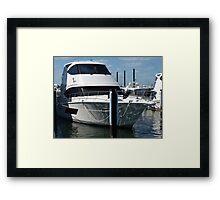 Fremantle Boat Framed Print