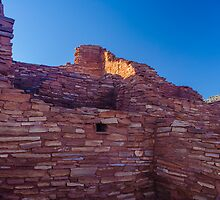 Wupatki Ruins, Sunrise AZ by photosbyflood
