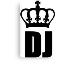 King DJ Canvas Print