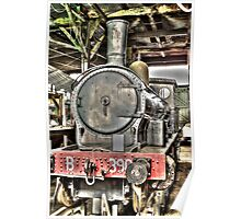 HDR Trains Poster