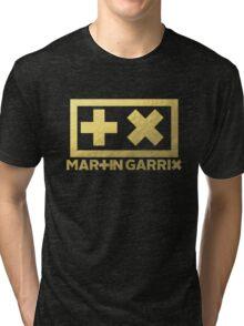 Martin Garrix - Gold Foil Texture Tri-blend T-Shirt