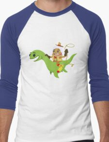 Cryptid Buddies! Men's Baseball ¾ T-Shirt