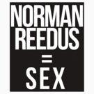 Fangirl Math: Reedus = Sex (sticker + iPhone) by eltrk