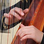 "harpists hands (see in ""description"" below for framed image) by gaylene"