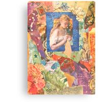 The Seamstress Canvas Print