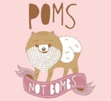 Poms Not Bombs Kids Clothes