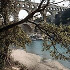 Pont du Gard 198403040005 by Fred Mitchell