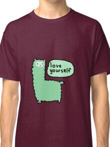 Love Yourself Alpaca Classic T-Shirt