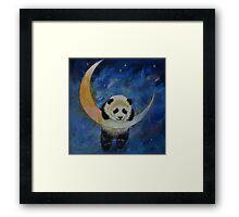 Panda Stars Framed Print