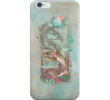 Fantasy Fish Art Nouveau iPhone Case/Skin