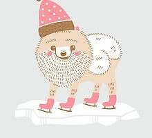 Ice Skater by Good Natured Beast