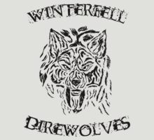 winterfell direwolves by eelectro11