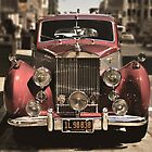 Red Rolls Royce by IreneMDesigns