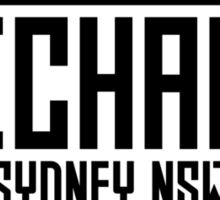 Leichardt Sticker