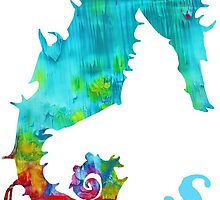 S is for Seahorse by Kathy Panton