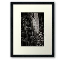 old sawmill Framed Print