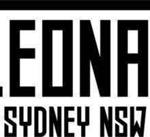 St Leonards Sticker