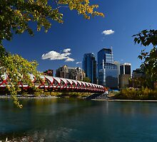 "'The Peace Bridge"" Calgary by Karl  Zielke"