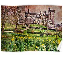 Spring At Arundel Castle - HDR Poster