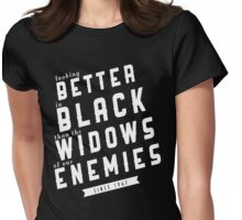 SHADOWHUNTERS: Better in Black Womens Fitted T-Shirt