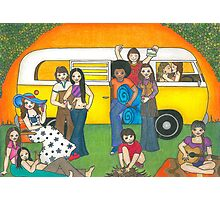 Camping Trip Photographic Print
