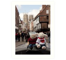 Day Out in York Art Print