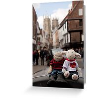 Day Out in York Greeting Card