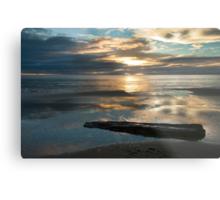 Washed Up - Etty Bay sunrise Metal Print
