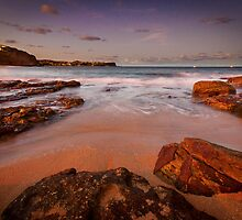 Warriewood Beach Sunset by Calelli