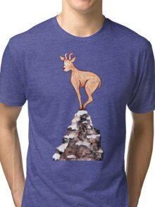 Winter Goat Tri-blend T-Shirt