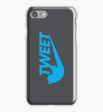Tweet (Grey) iPhone Case/Skin