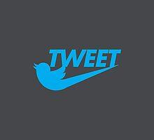 Tweet (Grey) by BludMuffin