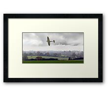 Eagle over England Framed Print
