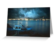 Night after night Greeting Card
