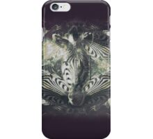 Faded Zebra iPhone Case/Skin