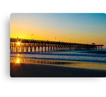 Saturday Morning Sunrise  Canvas Print
