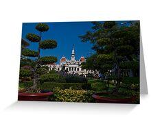 Vietnam. Ho Chi Minh City (Saigon). Former City Hall. Greeting Card