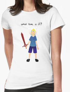 What time is it? Womens T-Shirt