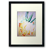 Daffs at 9 Framed Print