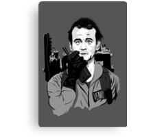 Ghostbusters Peter Venkman Bill Murray illustration Canvas Print