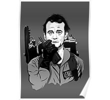Ghostbusters Peter Venkman Bill Murray illustration Poster